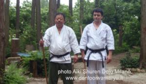 Aiki Shuren Dojo Milano in Giappone